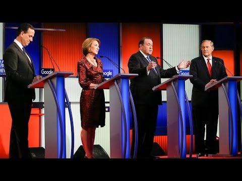 Part 4 of the 7 p.m. Fox News-Google GOP Presidential Debate