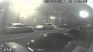 Shocking CCTV  Gunman shoots at National Crime Agency officers Thumbnail