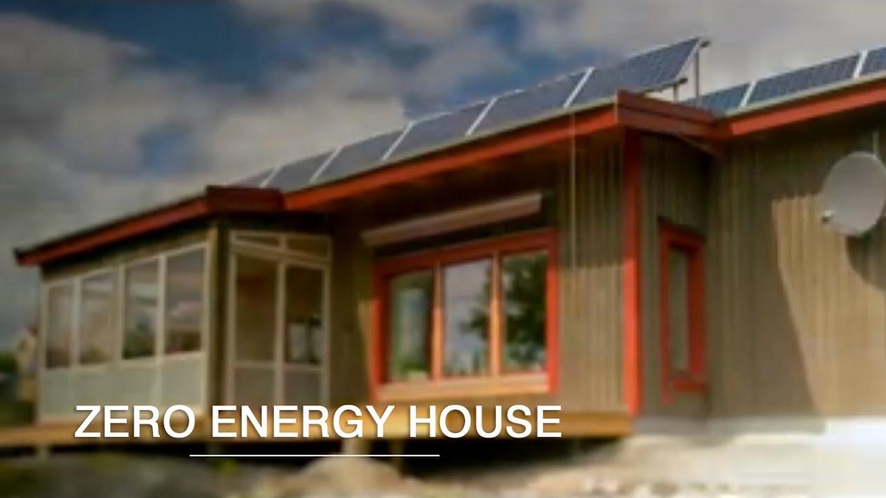 Zero Energy House Green Renaissance Youtube