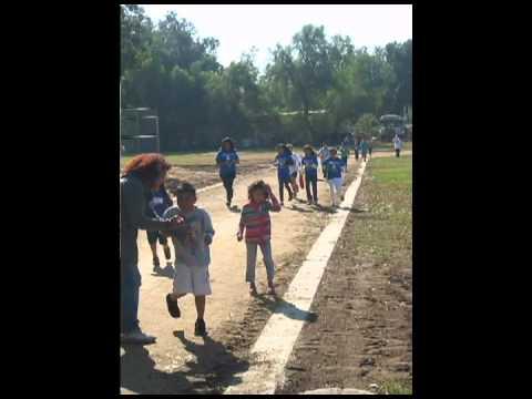 Troth Street Elementary 100 Mile Club Runners
