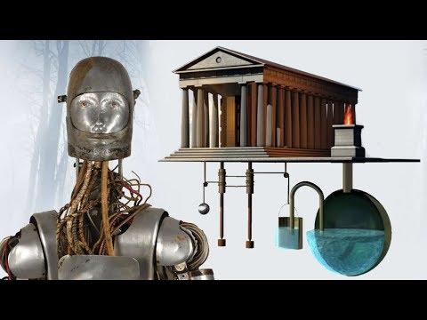 Древние автоматические двери и робототехника тысячи лет назад