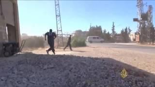 سكان ريف حمص يعيشون هاجس رعب القصف الروسي