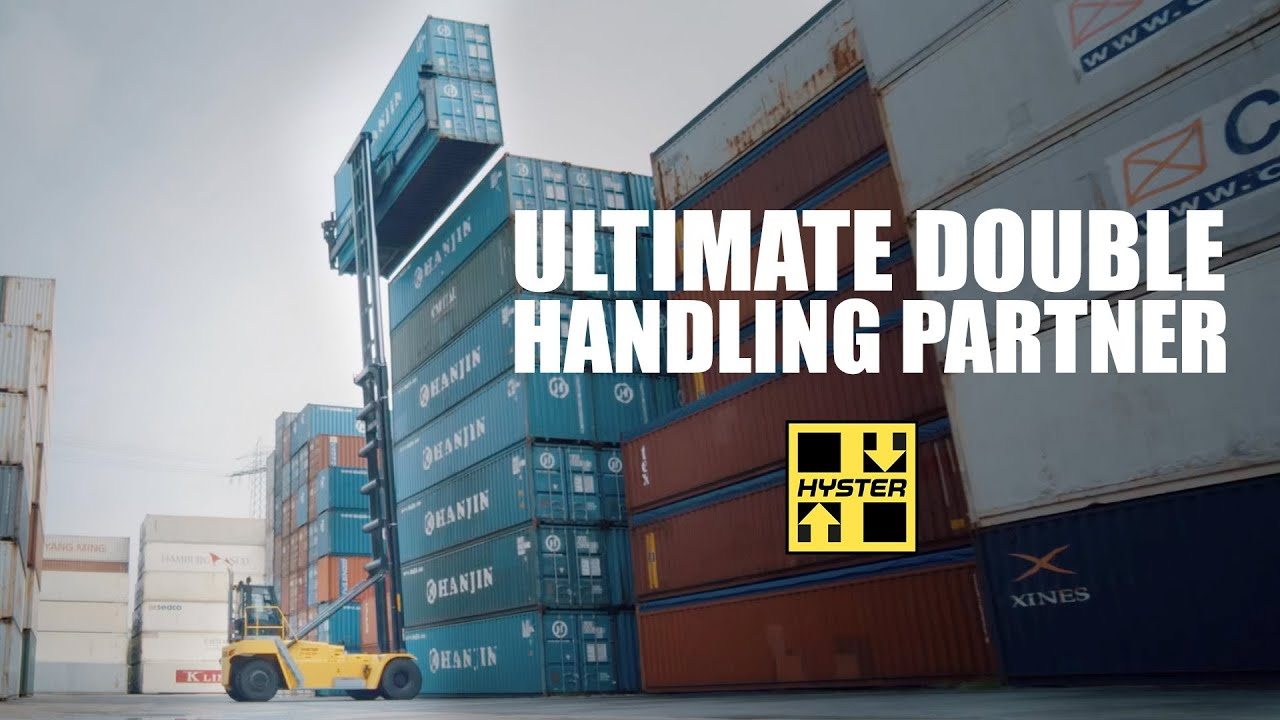 Hyster is your ultimate double handling partner - HysterⓇ