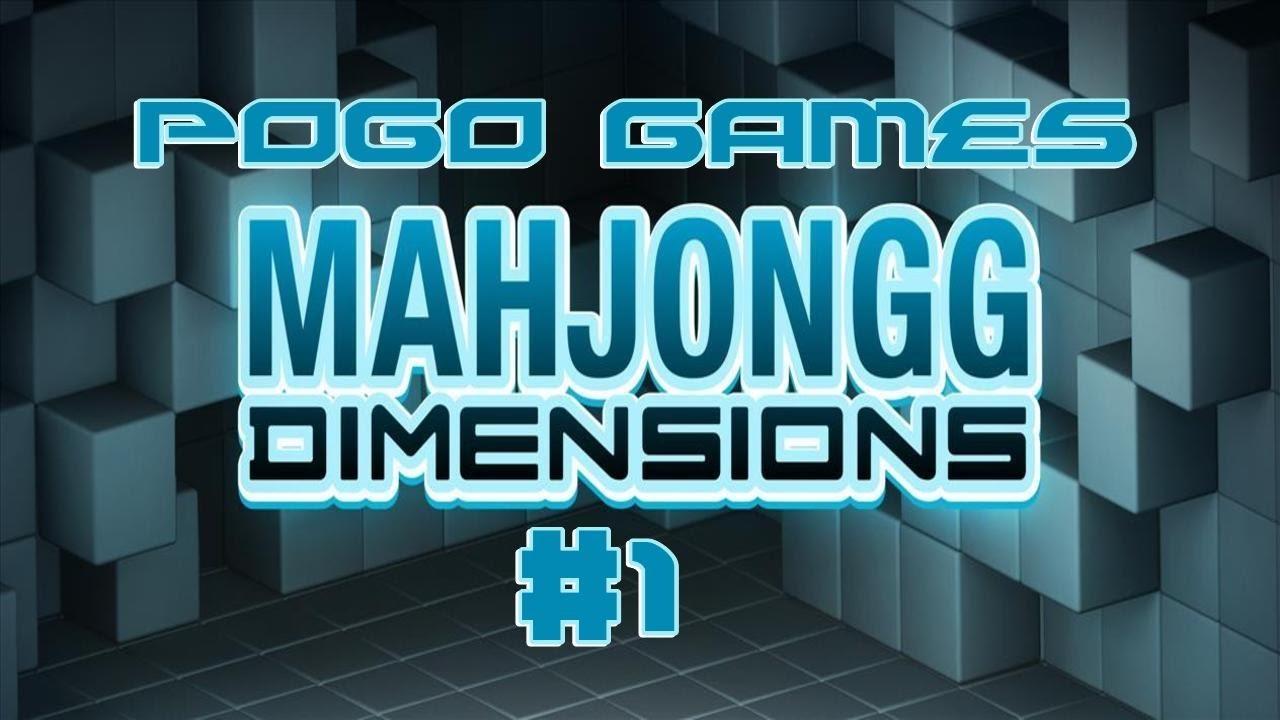 Pogo Games Mahjong Dimensions 1 YouTube