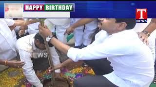 MP Santosh Kumar Planted Saplings at Balkampet Yellamma Temple