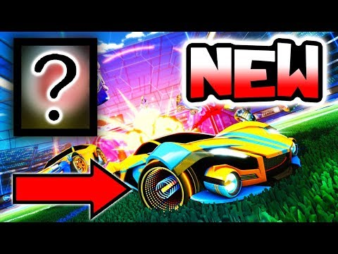 *NEW* CRATE ITEMS REVEALED!! ( Exotics & Mystery Decals - Rocket League Update )