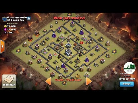 CoC's: Forum Striking vs 40 & over fun. Th9 Gobolaloon and Golaloon 3 star attacks.