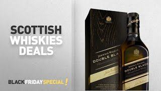 Scottish Whiskies Black Friday Deals: Johnnie Walker Double Black Label Blended Scotch Whisky, 70cl