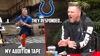 The Colts Responded To My QB Audition Tape..