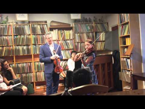 Violin Master Class with Lorenz Gamma: Practicing Vibrato
