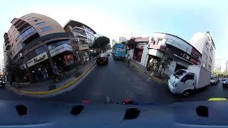 Reporteo en 360°: Así vive un ciclista por las calles de Santiago