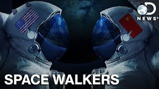 Who Were The First People To Walk In Outer Space?