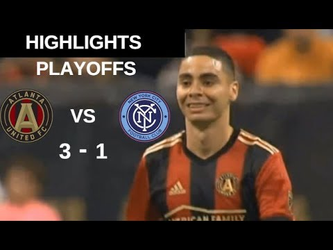 Atlanta United FC vs New York City FC Highlights | MLS Cup Playoffs 11/11/2018