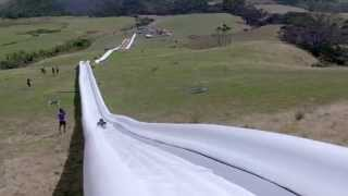 The World's Longest Waterslide! By Live More Awesome