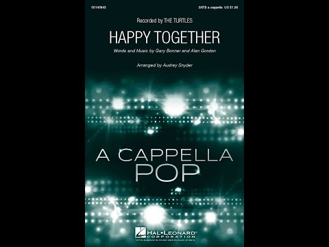 Happy Together - Arranged by Audrey Snyder