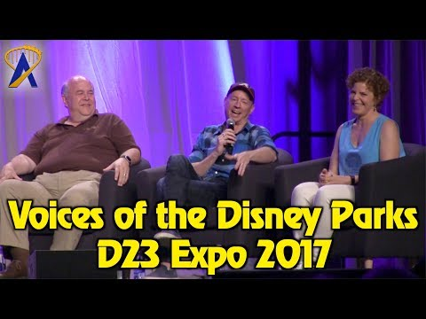 Full Voices of the Disney Parks panel from D23 Expo 2017