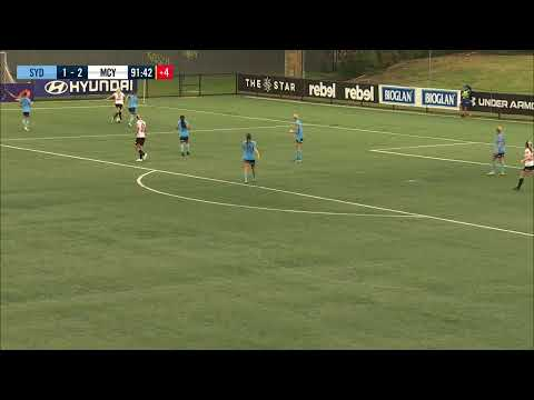 Westfield W-League 2019/20: Round 4 - Sydney FC Women V Melbourne City FC Women (Full Game)