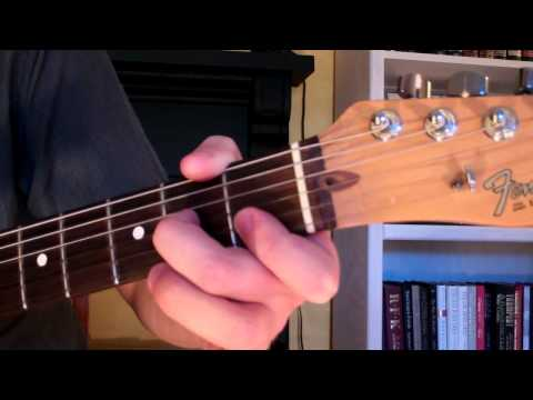 How To Play the Dm7 Chord On Guitar (D minor seventh) 7th