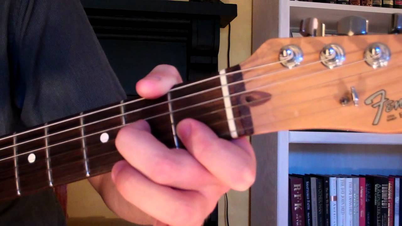 How To Play The Dm7 Chord On Guitar D Minor Seventh 7th Youtube