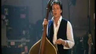Paul McCartney on the Upright Bass