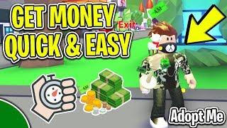 Cómo ganar dinero / BUCKS *FAST * & * *EASY * En Roblox ADOPT ME