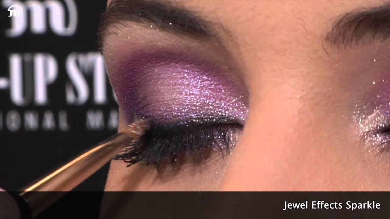 Ongekend Make-up Studio - Jewel Effects Glitter make up tutorial - YouTube EL-96