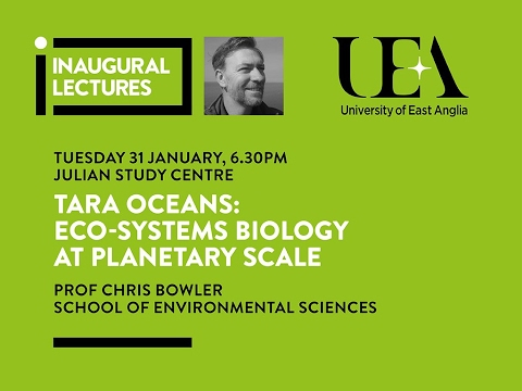 Inaugural Lectures: Eco-Systems Biology at Planetary Scale | University of East Anglia (UEA)