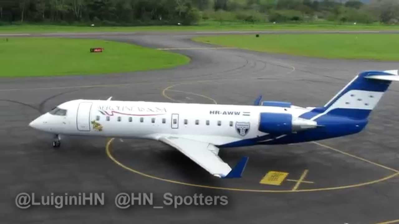 Honduras Premier Domestic Airline Sosa Airlines Jet Attended Tela ...