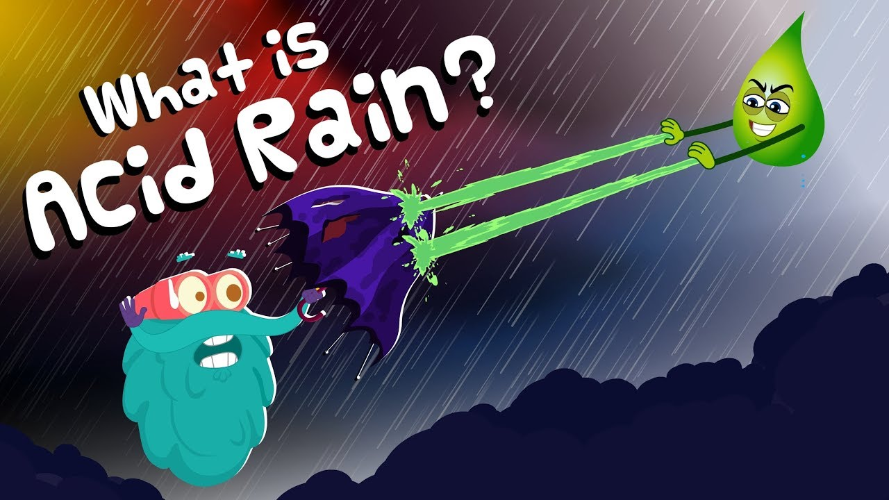 What is ACID RAIN? | Kids Learning Video | Earth Science | Peekaboo Kidz