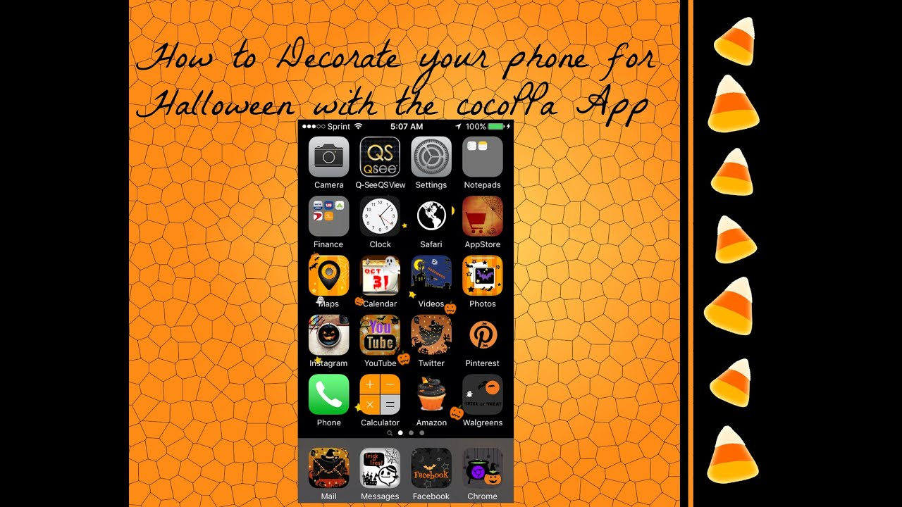 How to Decorate your iPhone iPod iPad or Android phone with the icon