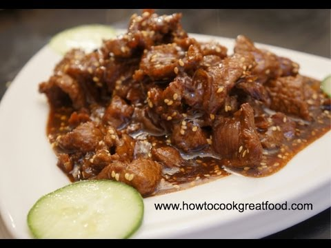 Asian Honey Beef & Sesame Seed Recipe Stir Fry - How To Cook Great Food