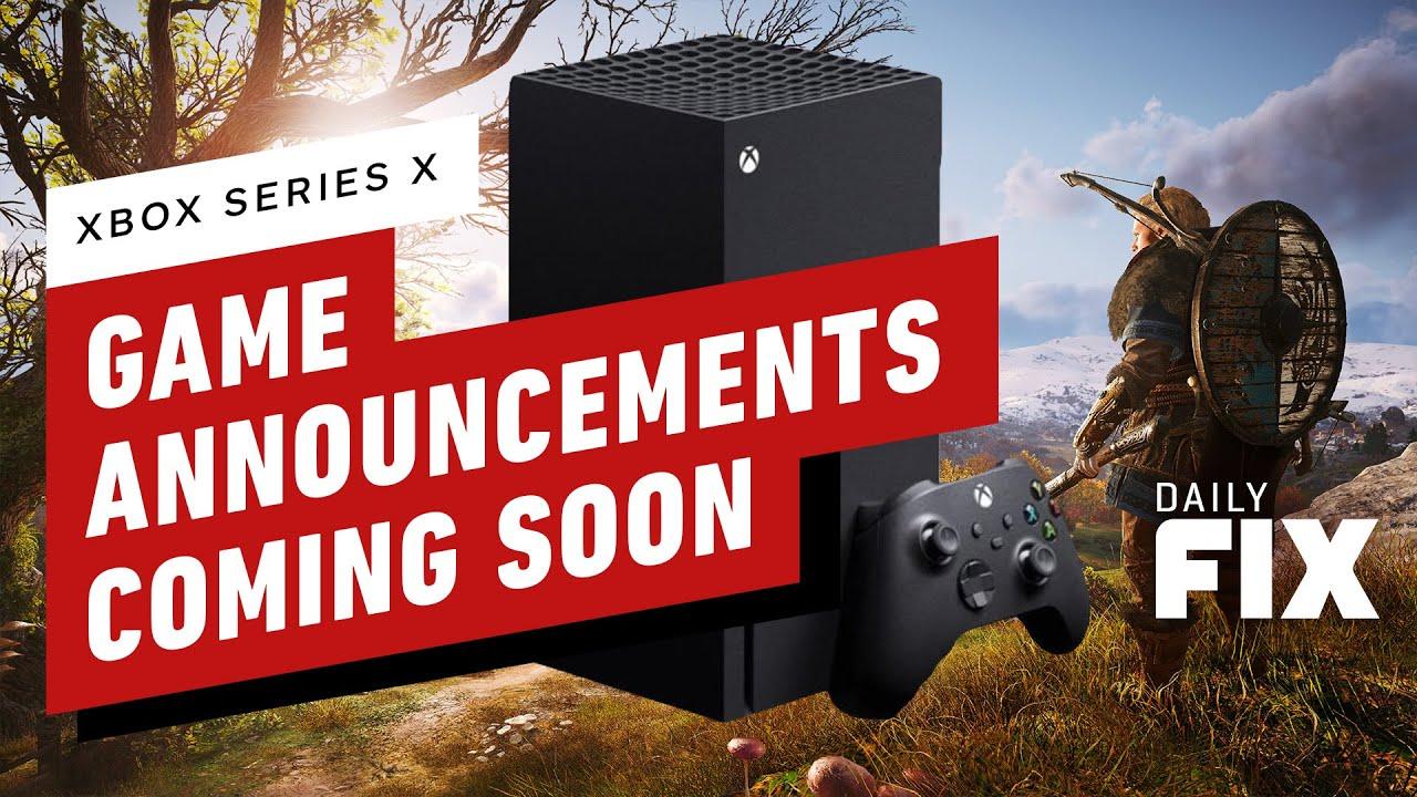 Anuncios de juegos de la serie X de Xbox próximamente - IGN Daily Fix + vídeo