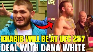 Khabib will be at UFC 257 event and warns Conor McGregor, Yair Rodriguez suspended, Marvin Vettori