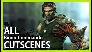 Bionic Commando - All Cutscenes (Video Game Movie - 1080p)