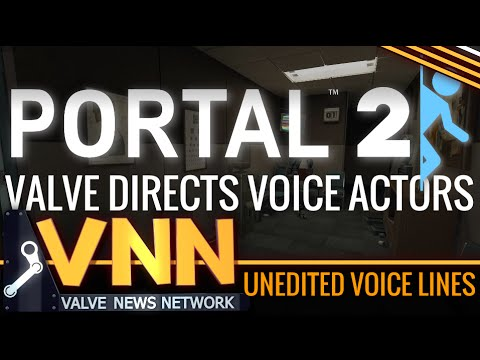 Unheard Portal Voice Files - How Valve Directs Voice Actors