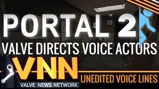 Unheard Portal Voice Files - How Valve Directs Voice Actors