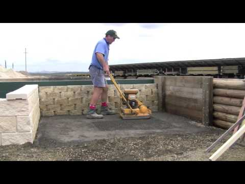 Paving Base Preparation Stage 1 Youtube
