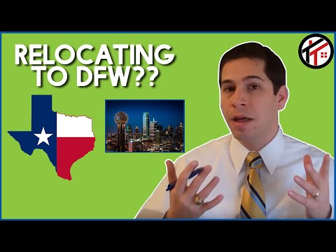 Relocating/Moving to Dallas/Fort Worth: Advice from Todd Tramonte