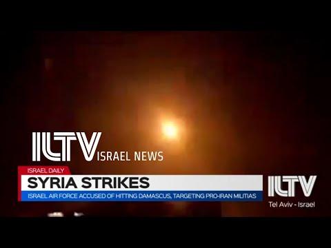 Israel Air Force Accused Of Hitting Damascus, Targeting Pro-Iran Militias