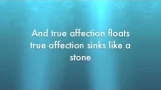 True Affection- The Blow Lyrics