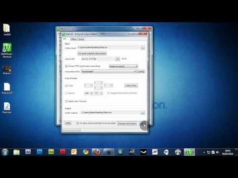 meGUI x264 encoding tutorial [VOICE]