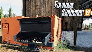 FARMING SIMULATOR 19 #151 - IMPIANTO RISCALDAMENTO PER PAGLIA ERBA e CIPPATO - GAMEPLAY ITA