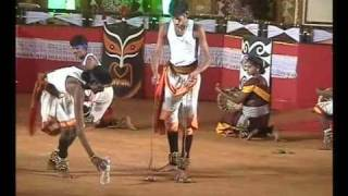 Thappattam Folk dance of Tamilnadu.