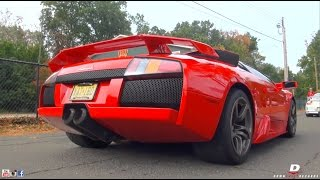 Exotic Cars Arriving to Driven By Purpose 2014 // Part 5