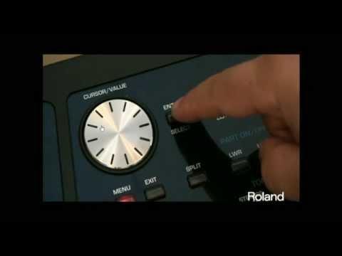 Hướng dẫn làm style tren Roland BK5