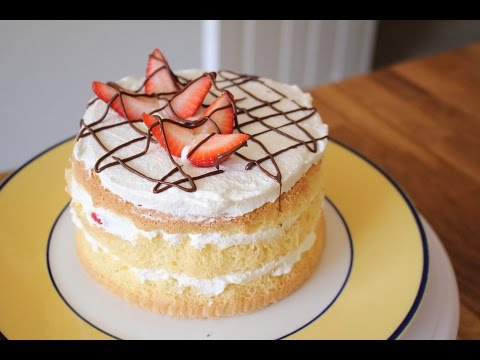 How to make a cake without flour
