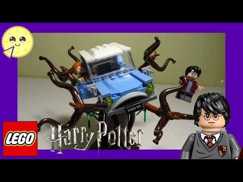 new-lego-harry-potter-hogwarts-whomping-willow-75953-unboxing-and-speed-build--part-1