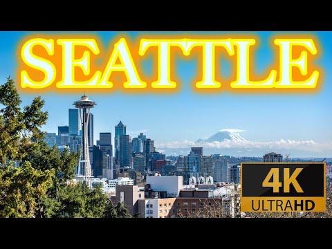 Seattle Washington Travel Tour 2020 4K