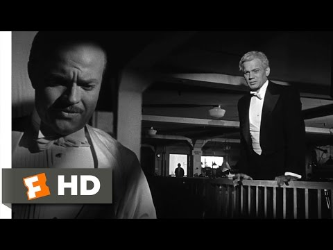 Citizen Kane - Kane Finishes the Review Scene (8/10) | Movieclips