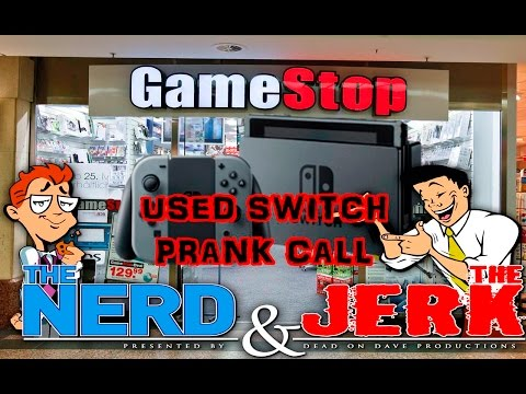 Looking For A Used Nintendo Switch From GameStop! - Prank Call